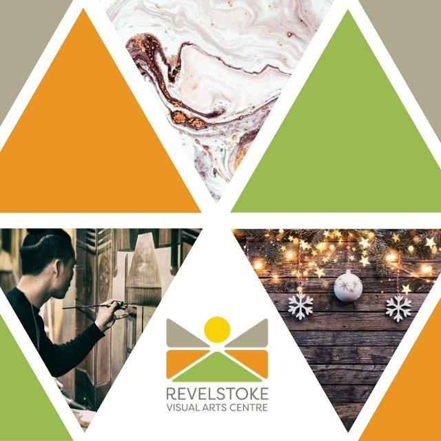 """Revelstoke Visual Arts Centre, """"Christmas Shop,"""" 2019"""