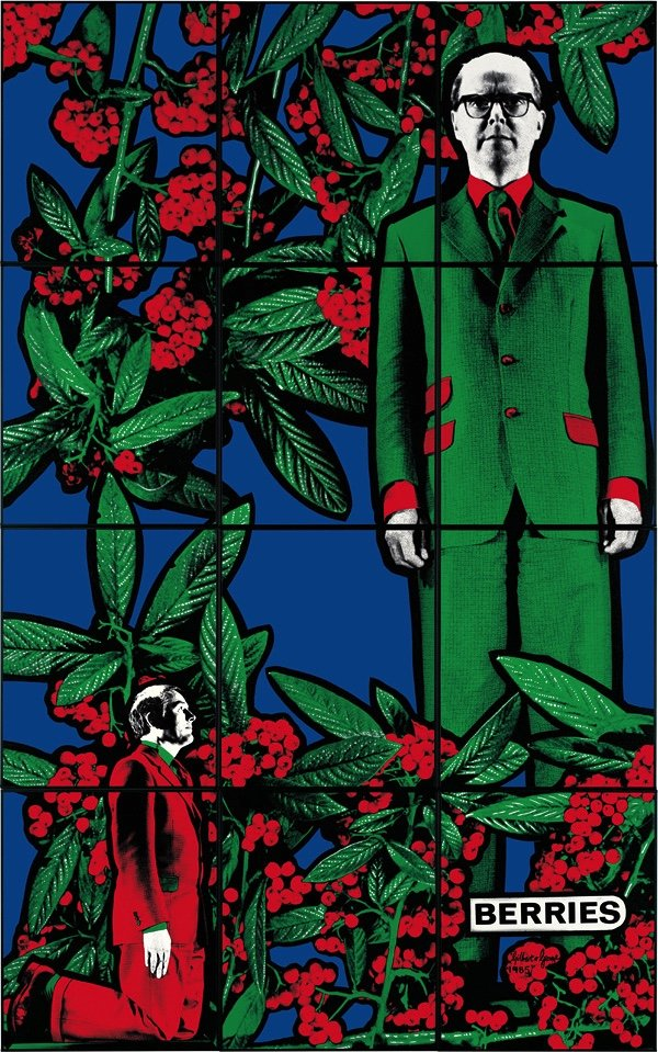 "Gilbert & George, ""BERRIES,"" 1985"