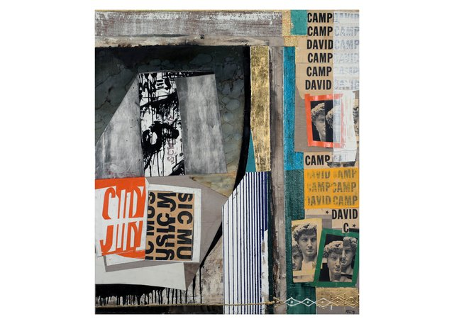 "Attila Richard Lukacs, ""Camp David"" 2014"