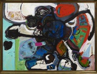 "Oscar Cahén ""Traumoeba, FAO 036,"" 1956"