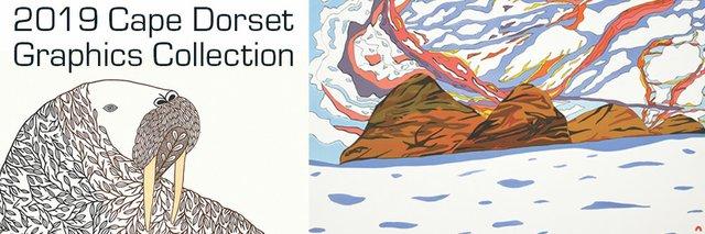 2019 Cape Dorset Annual Print Collection