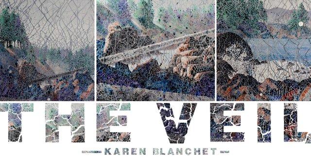 """Karen Blanchet, """"The Veil,"""" 2019"""
