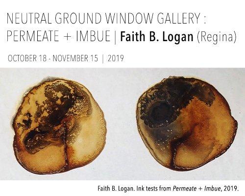"""Faith B. Logan, """"Permeate + Imbue,"""" 2019"""
