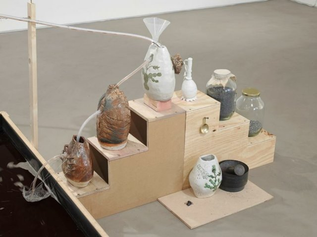 """Candice Lin, """"System for a Stain,"""" 2016"""