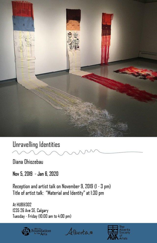"Diana Obiozebau, ""Unravelling Identities,"" 2019"