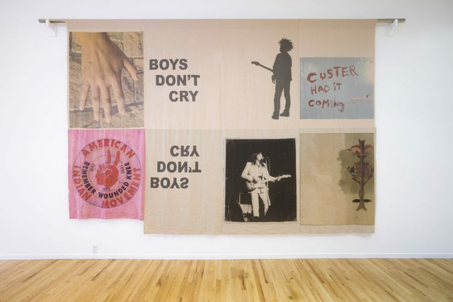 "Duane Linklater, ""boys don't cry,"" 2017"