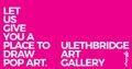 "ulethbridge Art Gallery, ""The Drawing Pop Bar,"" 2019"