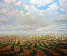 """Steve Coffey, """"Hilly Harvest,"""" nd"""