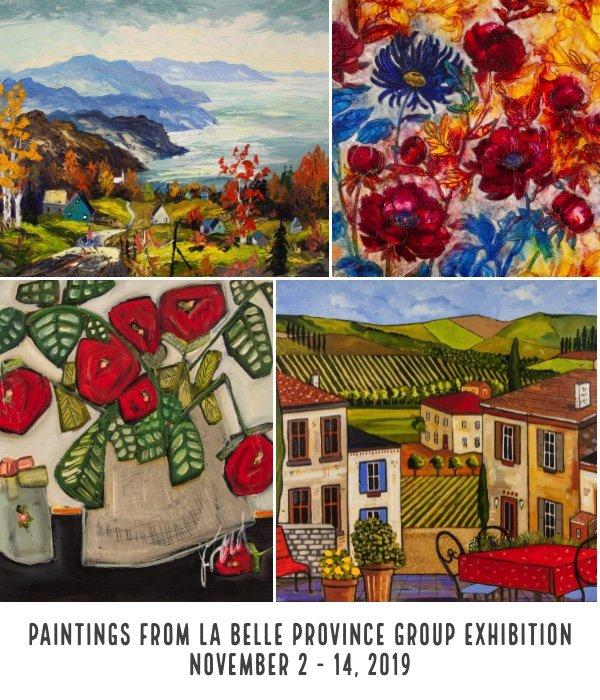 "West End Gallery, ""La Belle Province,"" 2019"