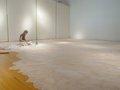 "Mary Babcock, ""Gallery Installation, in progress,"" 2015"