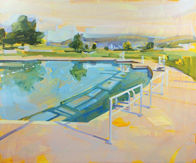 "Gillian Richards, ""New Brighton Pool,"" 2019"