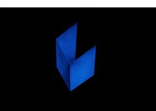 "Marie Lannoo,""Blue Eyes Blue 1""(detail), 2019"