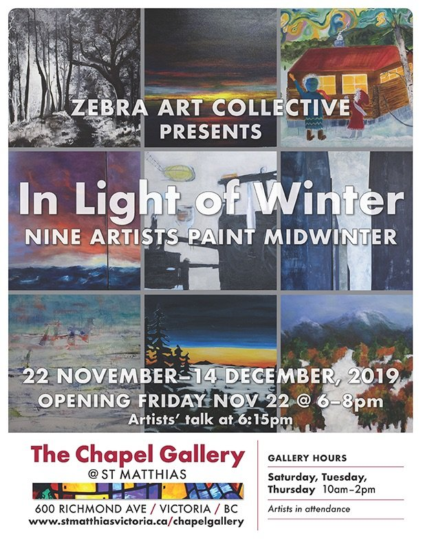 "Zebra Art Collective, ""In Light of Winter,"" 2019"