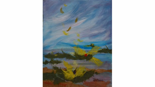 """Tessa Dichurpa, """"Breeze,"""" 2016"""
