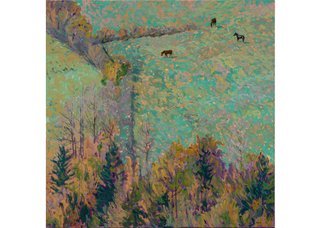 "David More, ""Horses Above River,"" 1995"