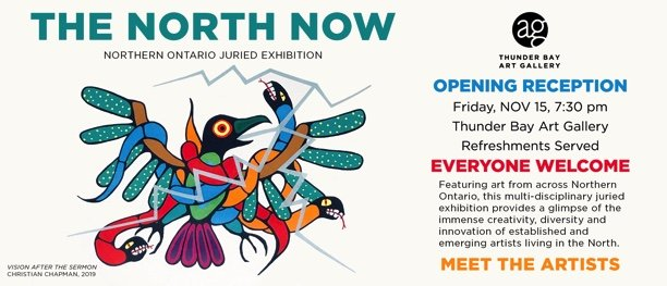 "Thunder Bay Art Gallery, ""The North Now,"" 2019"