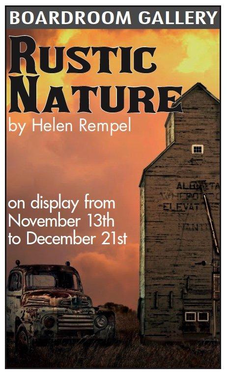 """Helen Rempel, """"Rustic Nature,"""" 2019"""