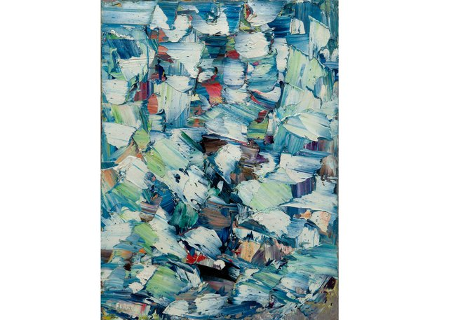 "Marcelle Ferron, ""Untitled,"" 1956 ($240,000 - ByDealers)"