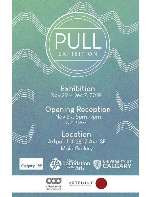 "UofC Art students, ""PULL,"" 2019"