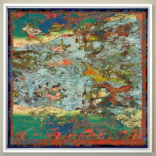 """Robin Smith Peck, """"Riverbed Stories #3,"""" 2019"""
