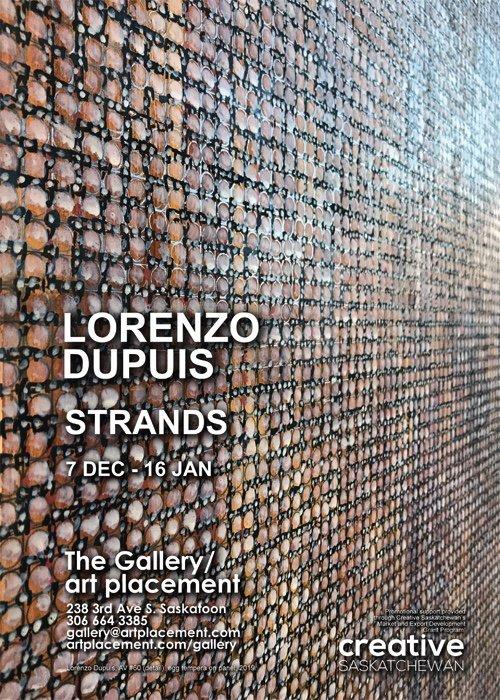 "Lorenzo Dupuis, ""Strands,"" 2019"