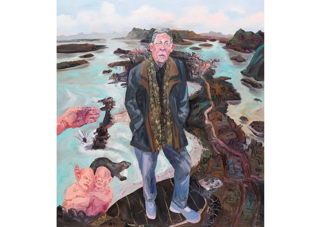 "John Hartman, ""Thomas King above Chesterman Beach,"" 2018"