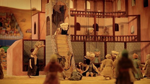 "Wael Shawky,""Cabaret Crusades: The Path to Cairo,"" 2012"