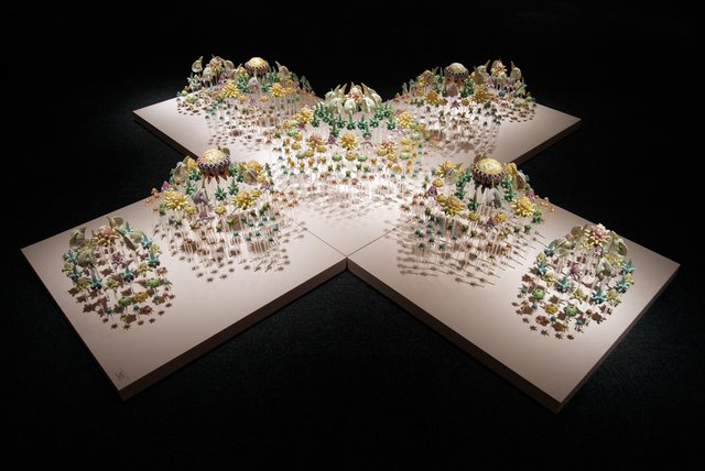 """Ying-Yueh Chuang, """"Cross Series #3,"""" 2008 (collection of the artist: photo courtesy of the artist)"""