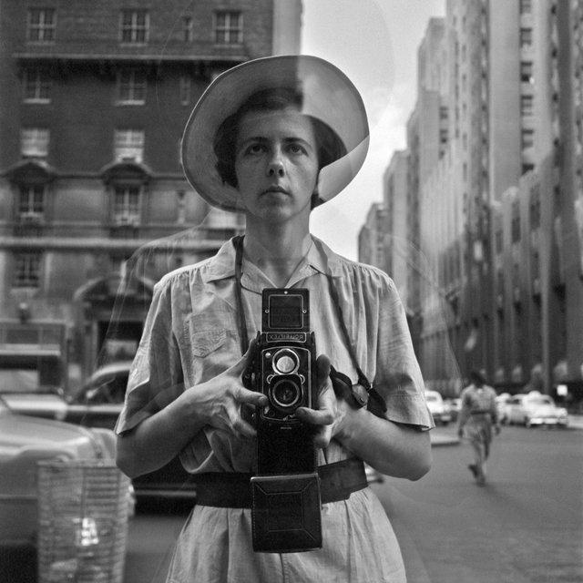 "Vivian Maier, ""Self-Portrait, New York,"" 1954"