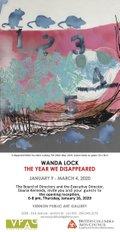 "Wanda Lock, ""The Year We Disappeared,"" 2020"