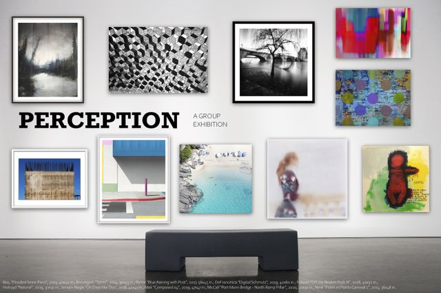 "Newzones Gallery, ""Perception,"" 2020"