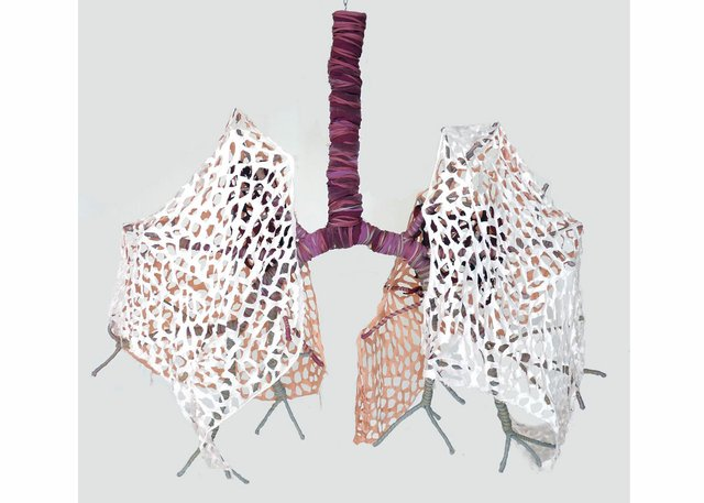 "Karina Bergmans, ""Lungs,"" 2013"