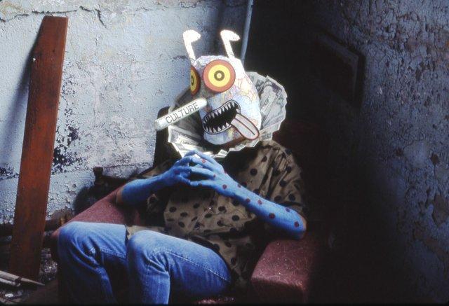 "David Wojnarowicz, ""Untitled (Culture Mask II),""1990"