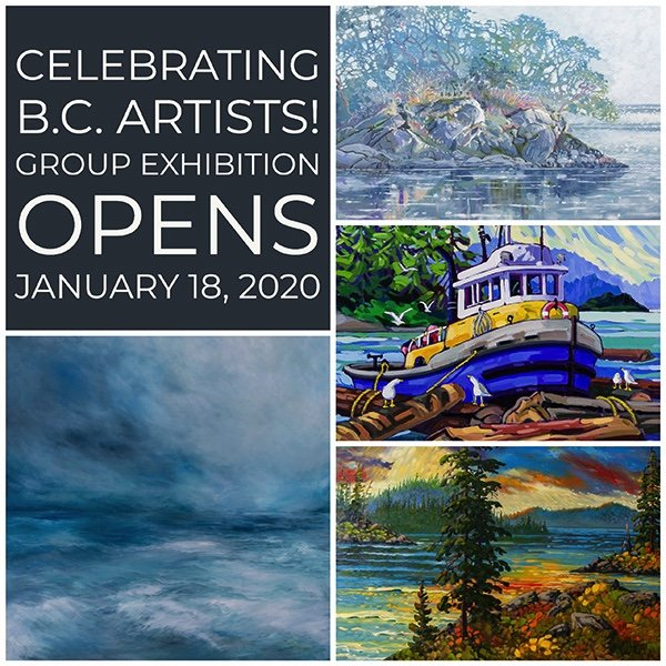 """West End Gallery, """"Celebrating B.C. Artists,"""" 2020"""