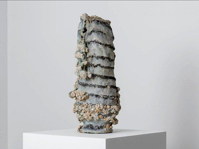 """Masaomi Yasunaga, """"Tokeru Utsuwa 熔ける器,"""" 2019"""