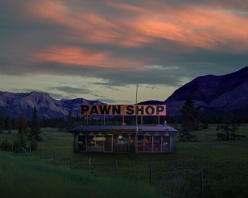 "Chris Malloy, ""Rocky Mountain Pawn Shop,"" 2019"
