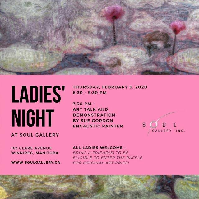 """Soul Gallery, """"Ladies' Night,"""" 2020"""