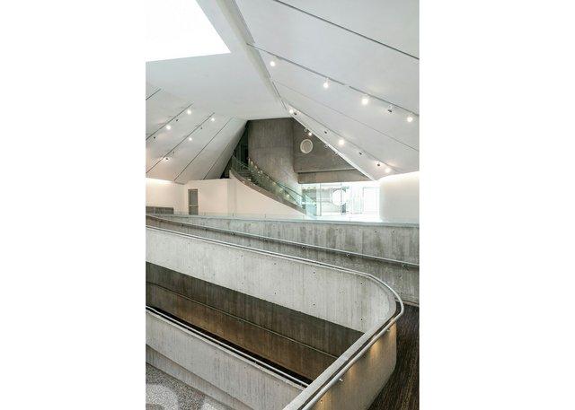 Atrium of Contemporary Calgary (photo by Jamie Anholt; courtesy of Contemporary Calgary)