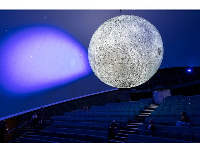 "Luke Jerram, ""Museum of the Moon,"" 2016"