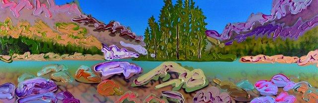 "Sheila Kernan, ""My Banff,"" 2019"