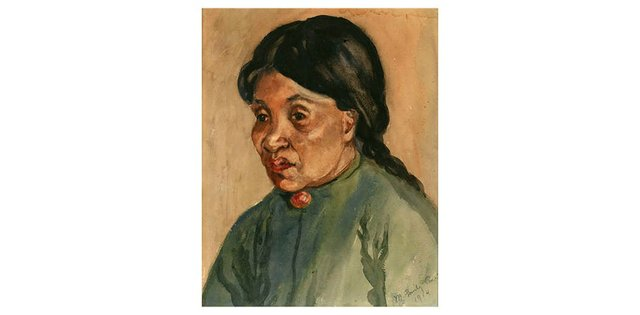"Emily Carr, ""Sophie Frank,"" 1914"