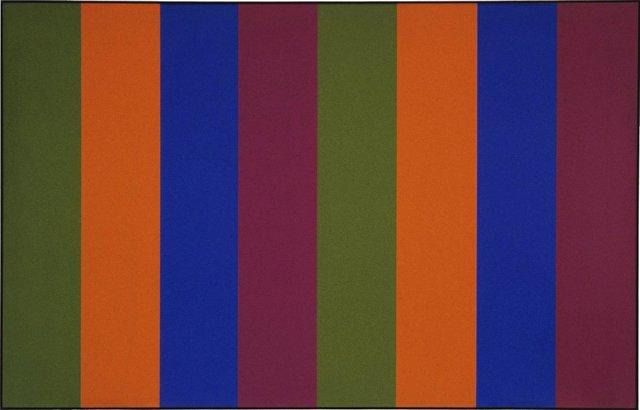 """Guido Molinari, """"Seriel Vert-Violet,"""" 1968"""