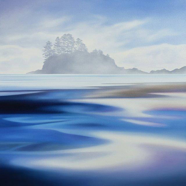 "Kylee Turunen, ""Island in the Fog,"" 2019"
