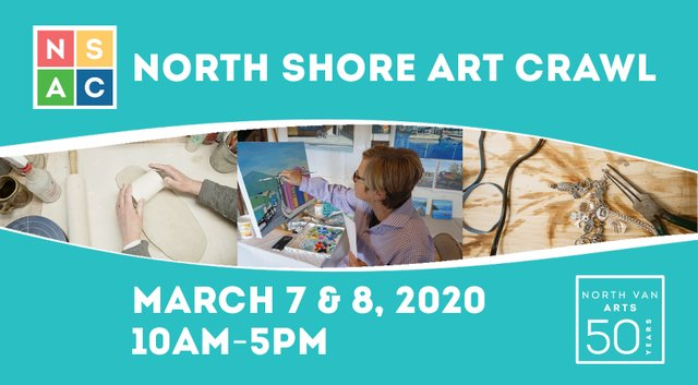 "North Van Arts, ""2020 North Shore Art Crawl,"" 2020"