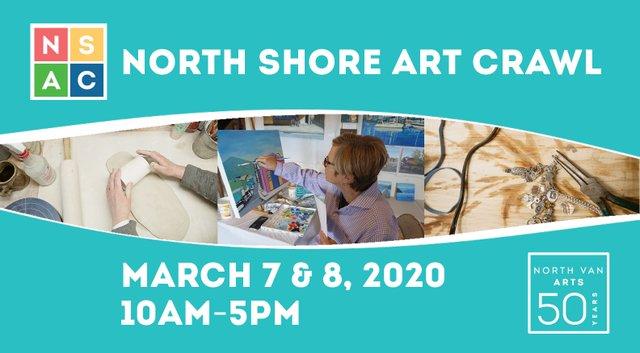 """North Van Arts, """"2020 North Shore Art Crawl,"""" 2020"""