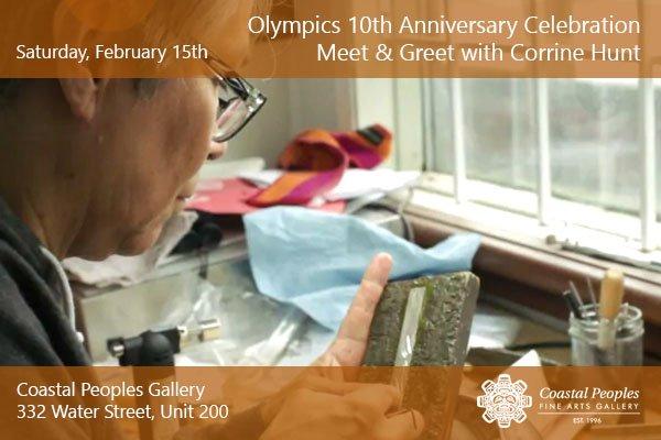 "Corrine Hunt, ""Olympics 10th Anniversary Celebration,"" 2020"