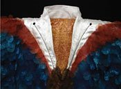 """Detail from Madame Butterfly coat"""