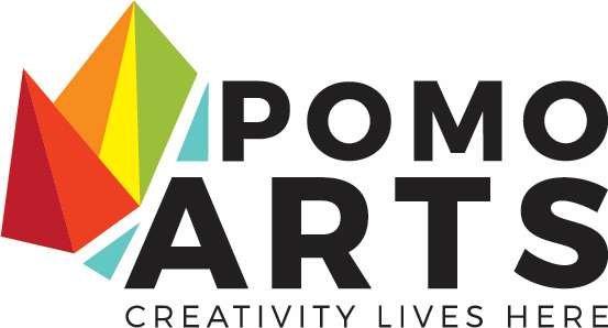 PoMo Arts Logo, 2020