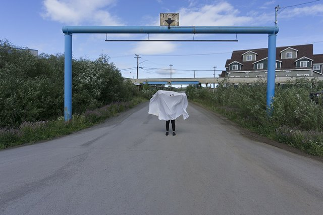 "Kablusiak, ""Boot Lake Road / Untitled Ghost Series,"" 2019"