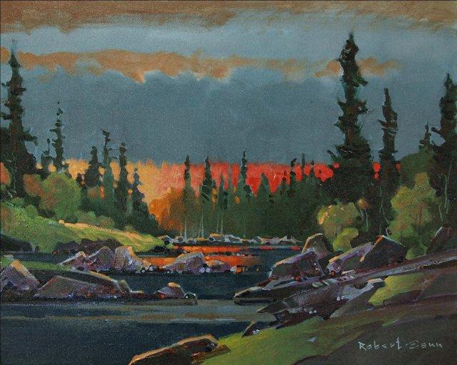 "Robert Genn, ""Beyond the Glow,"" 2007"